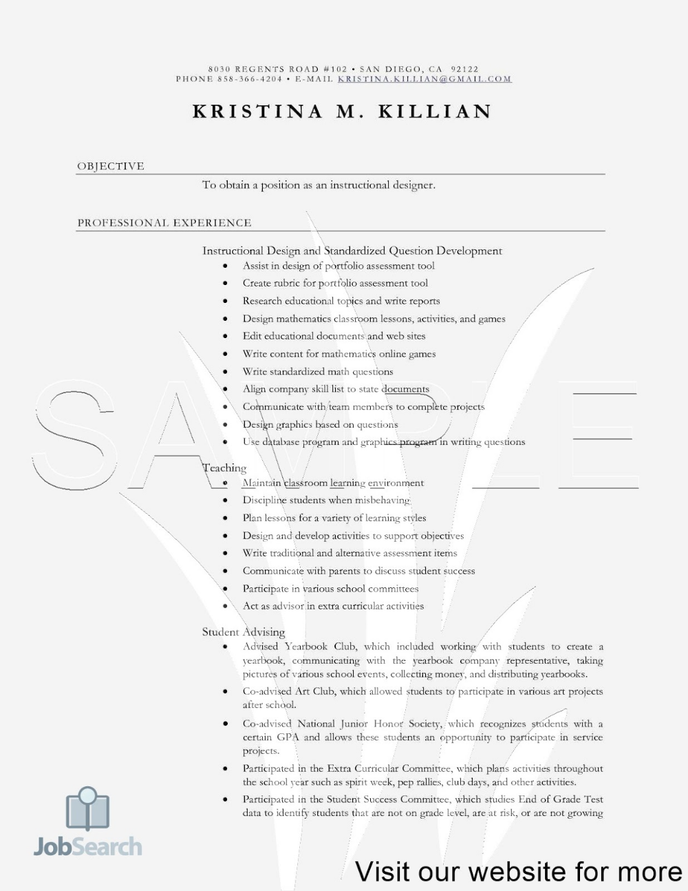 Resume Sample Format in Word for Student 2020 resume