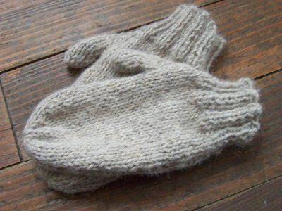 patron tricot moufle adulte