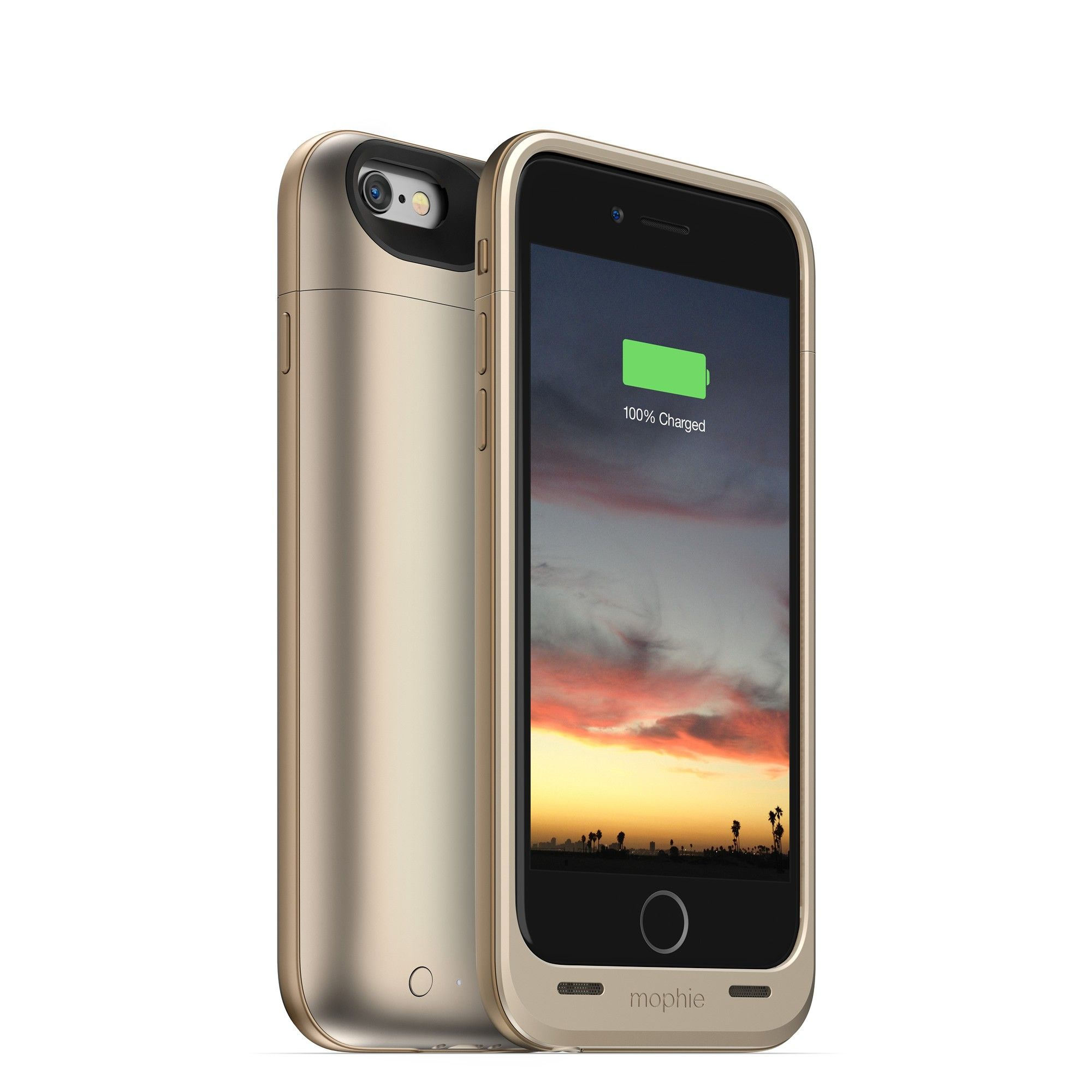 The juice pack air is a slim iPhone 6s / 6 battery case