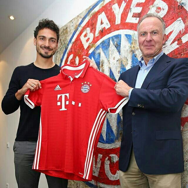 From Dortmund to Munchen. Welcome Hummels.