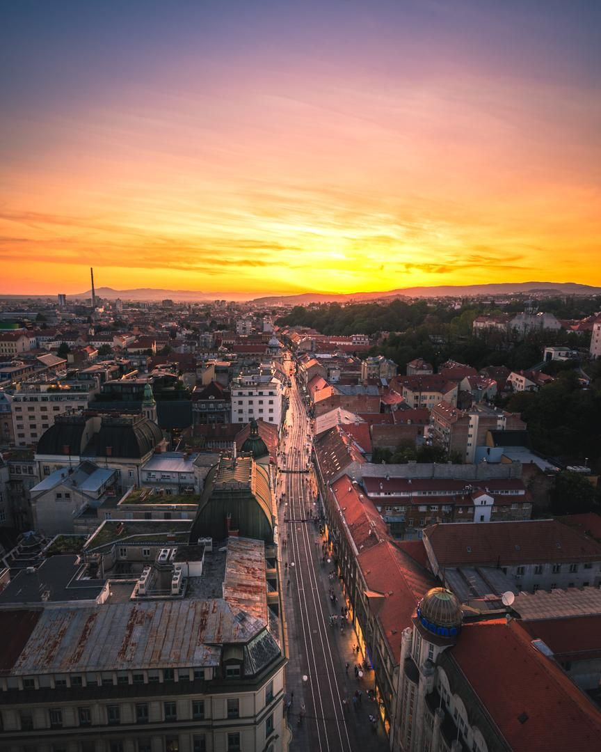 Saw A Picture Of Zagreb On The Front Page Thought I D Share My Own Travel Ttot Nature Photo Vacation Hotel Adv Zagreb Travel Inspiration Zagreb Croatia