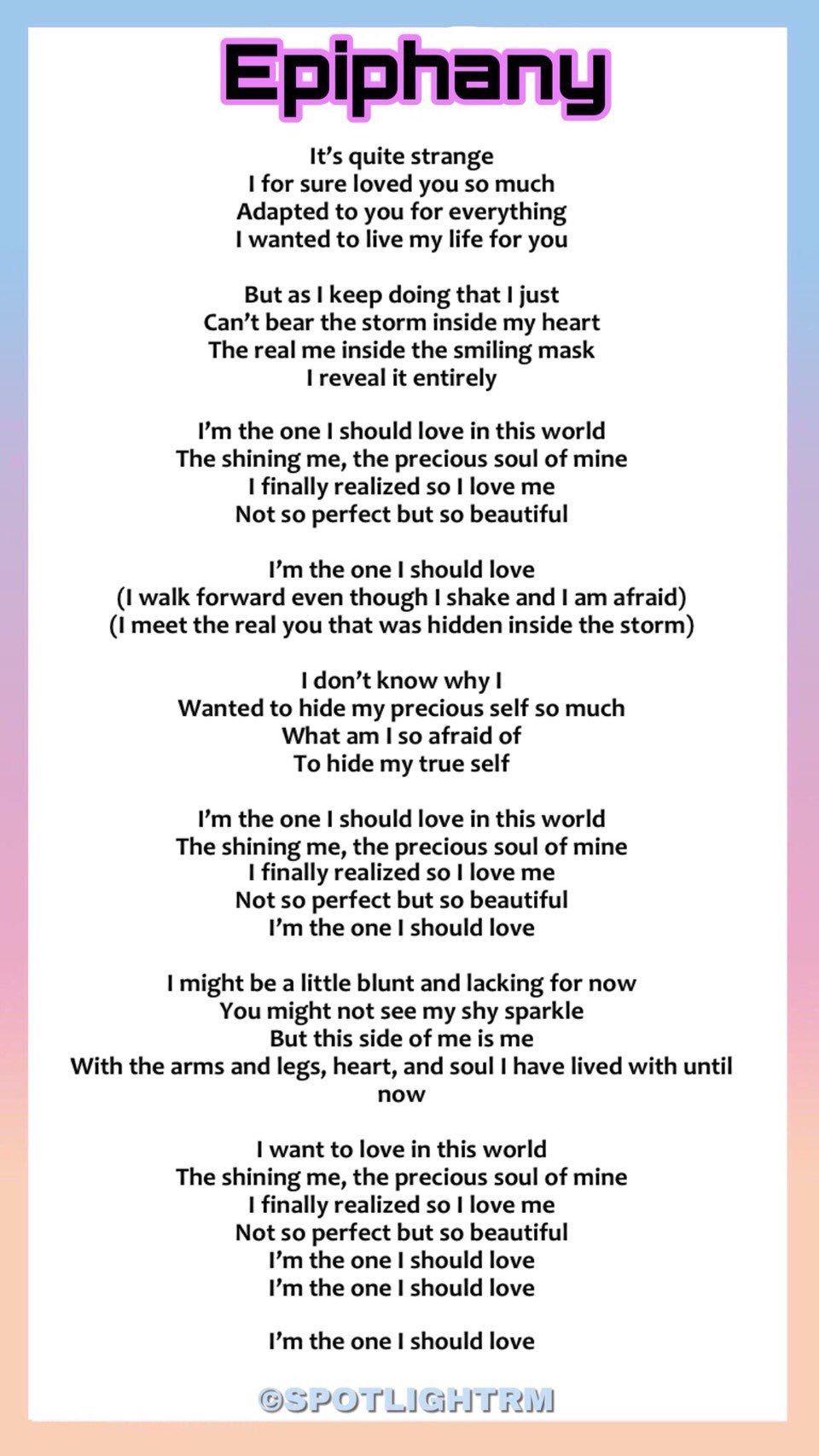 Bts 1 Fan Lirik Lagu Lirik Lagu