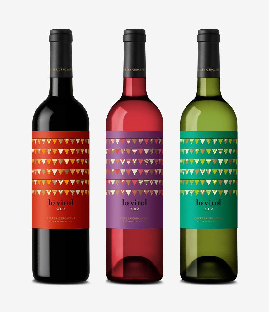 Lo Virol Wine Bottle Design Wine Label Design Wine Design