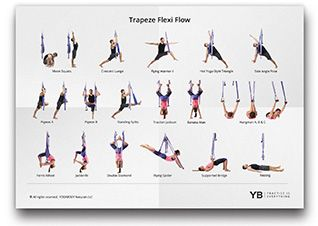 "yoga trapeze ""flow"" video tutorials  yoga for beginners"