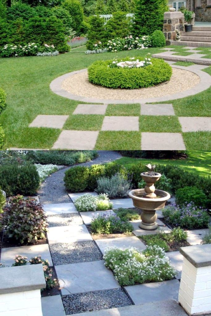 Photo of 25 Most Beautiful DIY Garden Path Ideas