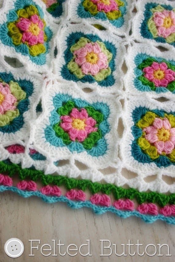 Felted Button - Colorful Crochet Patterns: | my patterns | | crochet ...