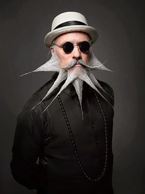 360 Amazing: Absurd Portraits from the National Beard & Mustache Championships