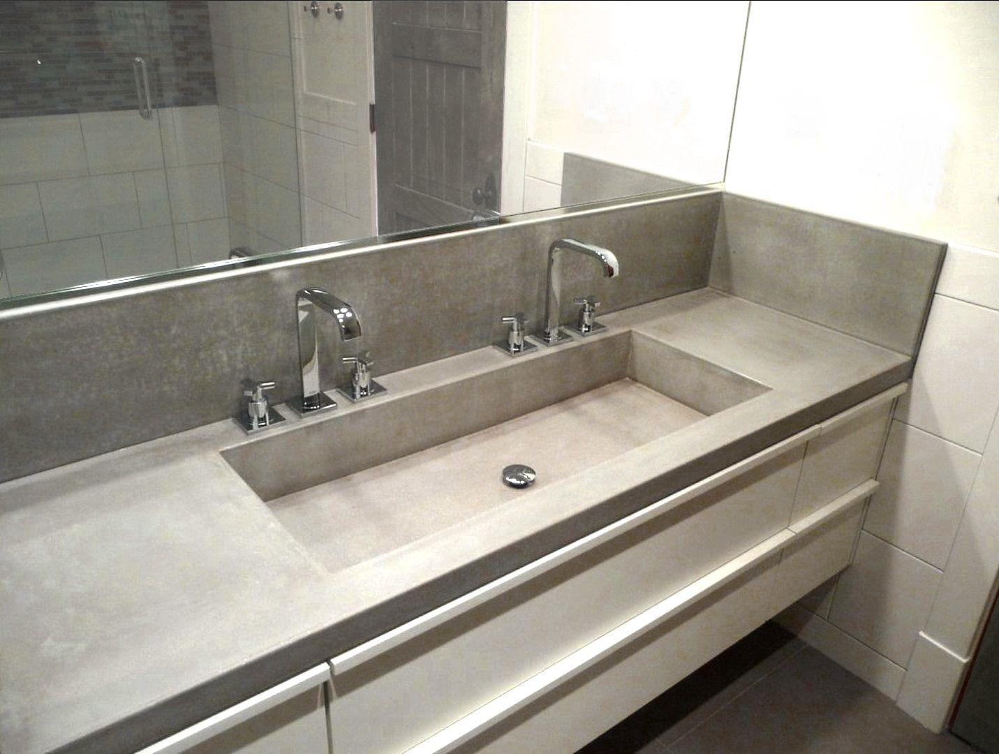 Vasque Salle De Bain Sur Plan De Travail idée salle de bain double évier - recherche google | idée
