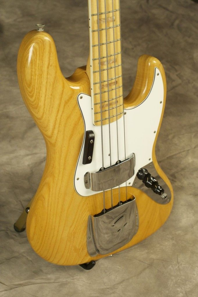 1975 Natural Fender Jazz Bass Scotty S Vintage Guitars Fender Jazz Fender Jazz Bass Bass