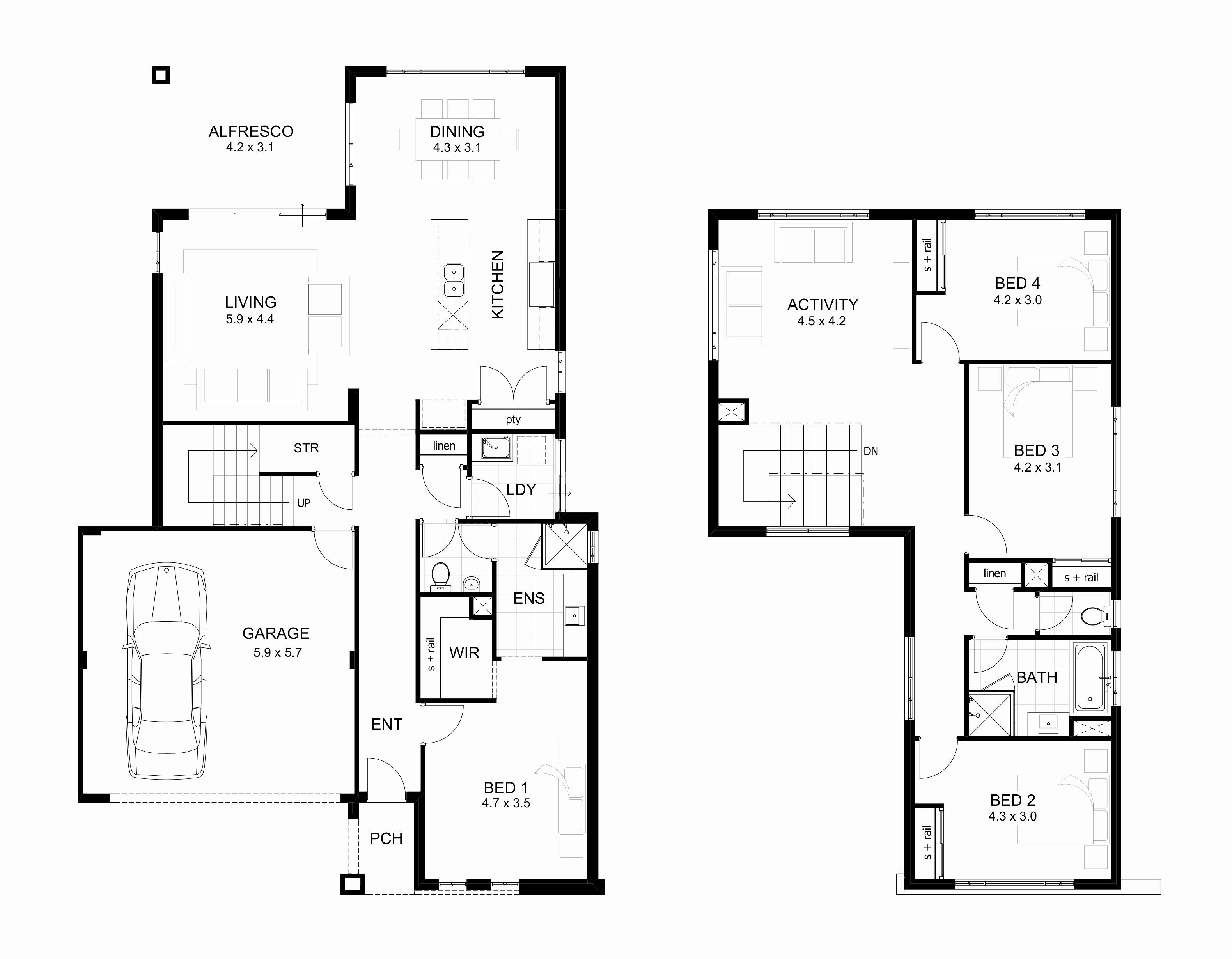 30 X 50 Two Story House Plans Awesome Fresh 40 60 Floor Beauteous Bedroom House Plans Affordable Interior Design Floor Plans