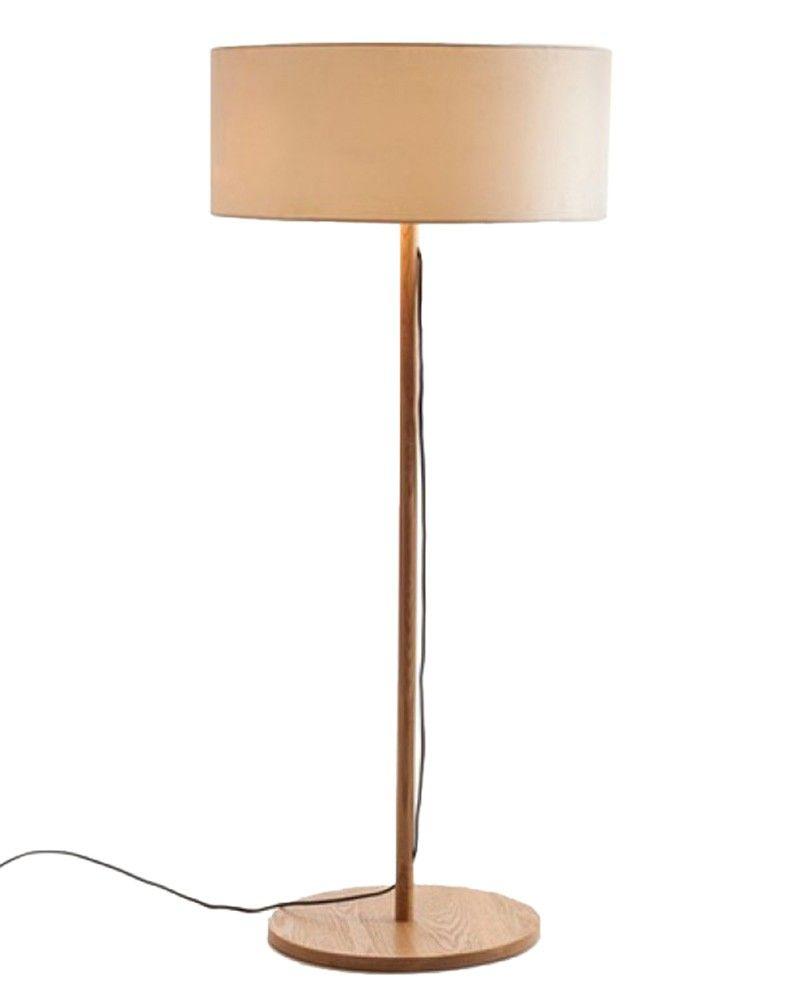 Modern Style Brown Drum Shade Wooden Floor Lamp With Round Base Wooden Floor Lamps Modern Brass Floor Lamp Standing Lamp