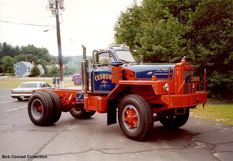 Over The Road Tractors : Beautiful antique mack truck otr over the road