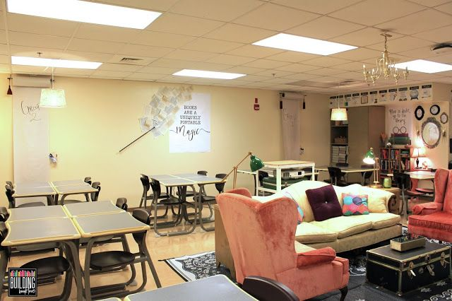 High School Classroom Decor Semi Flexible Seating In A Secondary