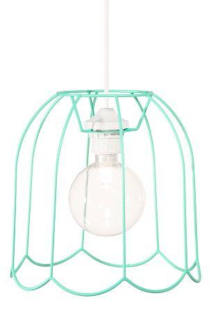 Kattovalaisin, jossa kellomainen,  mattapintaiseksi maalattu runko. Halkaisija 25 cm, korkeus 25 cm. Valkoinen johto.  Lampunpidike E27, leveä kanta. Enintään 60 W. Lamppu ei mukana. Suositellaan kirkasta E110 Halolux E110 -pallolamppua.  Design: Patrick Hall.