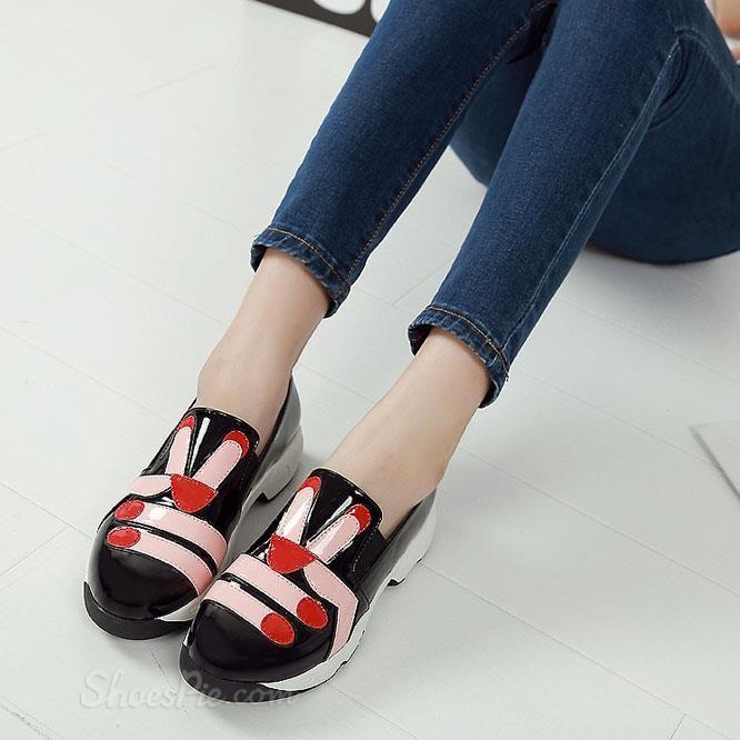Shoespie Chic Print Sneaker