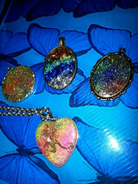 Medallones en resina