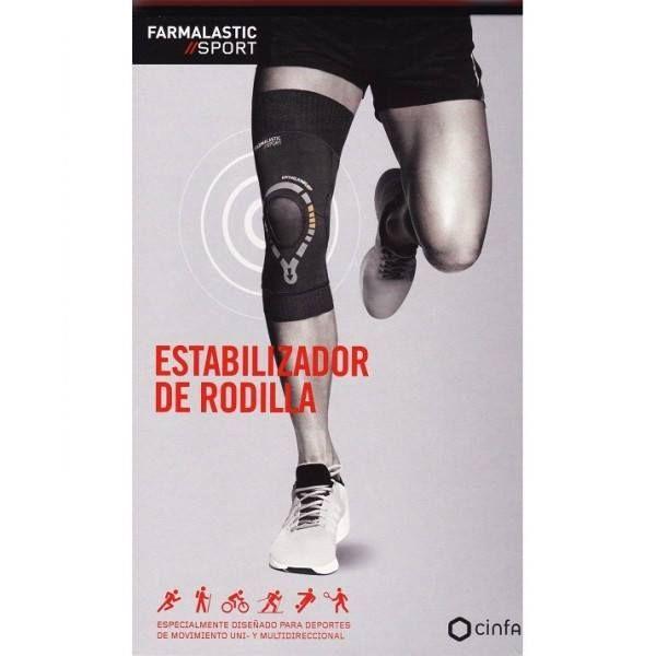 ¡Alerta #deportistas! 🏃🏃 ¿Aún no conoces el nuevo #estabilizador de #rodilla #Farmalastic #sport? Es el complemento perfecto para deportistas de movimiento uni y multidireccional que buscan #sujetar la #rótula y #estabilizar la #.la rodilla sin perder libertad de #movimiento. Alivia el #dolor y evita posibles #lesiones, ya que asegura un mejor #apoyo de la rodilla, evitando la #sobrecarga en la otra rodilla y posibles lesiones en #músculos y #tendones. Pídenos más información sin dudarlo…
