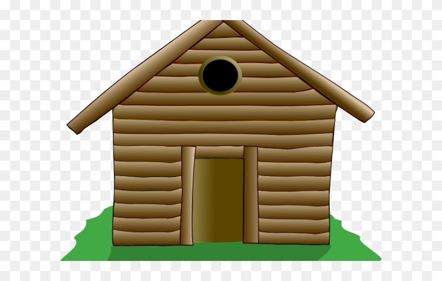 Cabin Clipart Silhouette Three Little Pigs Houses Clipart Png Download 5331327 Is A Creative Clipart D Three Little Pigs Houses Pig House House Clipart