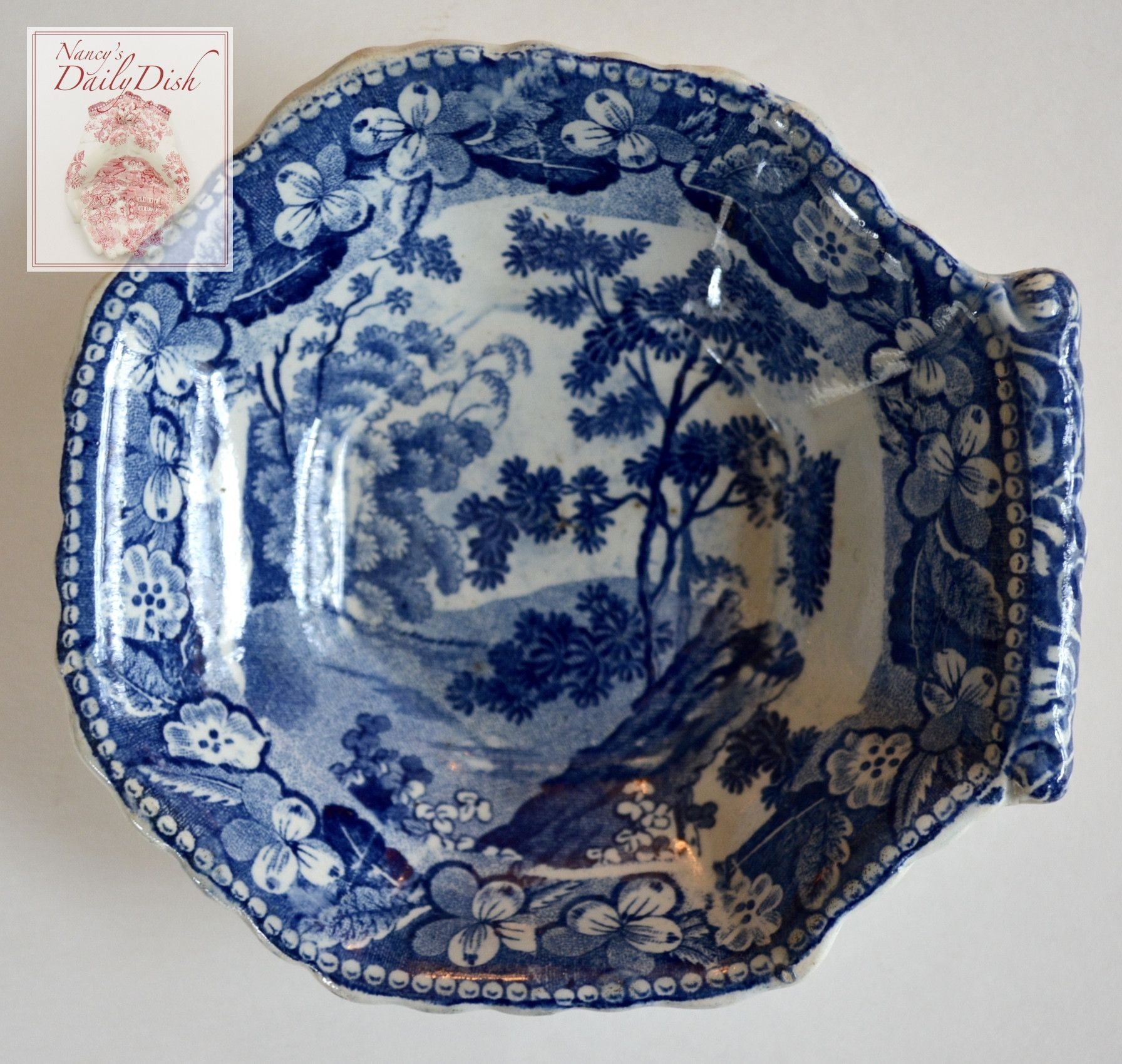 Antique late 18th or early 19th century stoke upon trent blue porcelain reviewsmspy