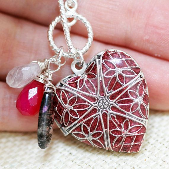 Red locket