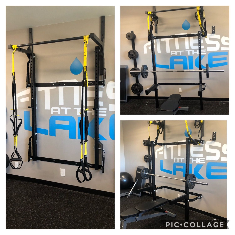 profile folding squat rack build