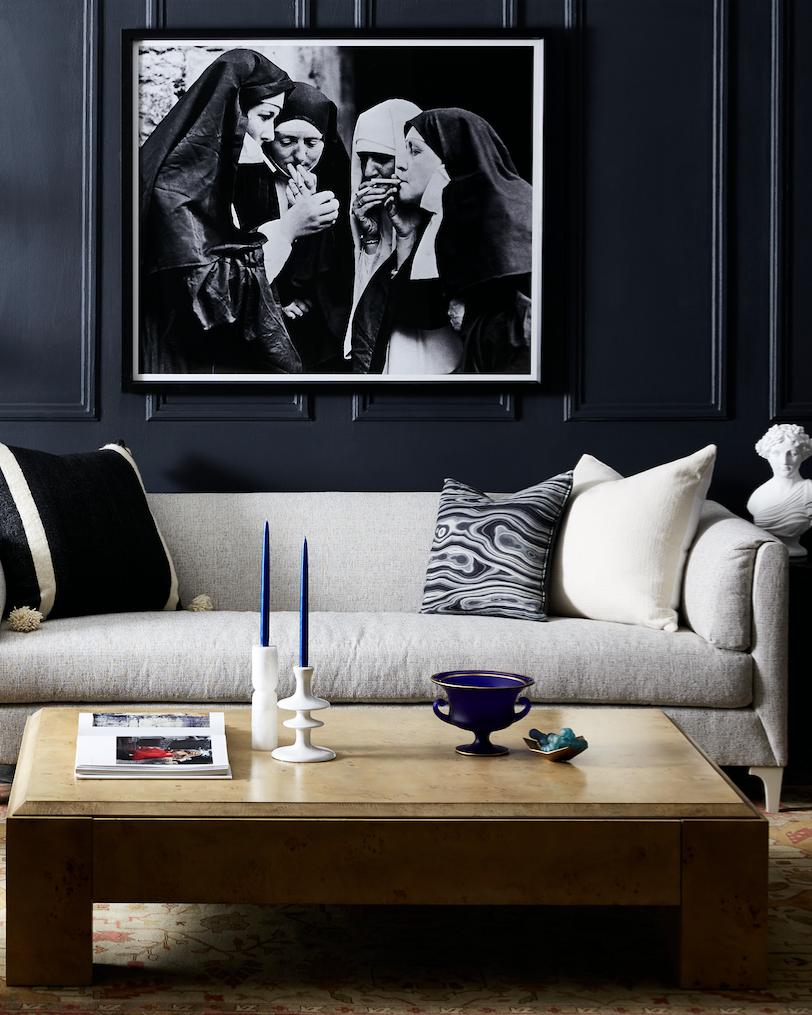 55 Incredible Masculine Living Room Design Ideas Inspirations: We Love This Edgy-meets-elegant Interior Designed With