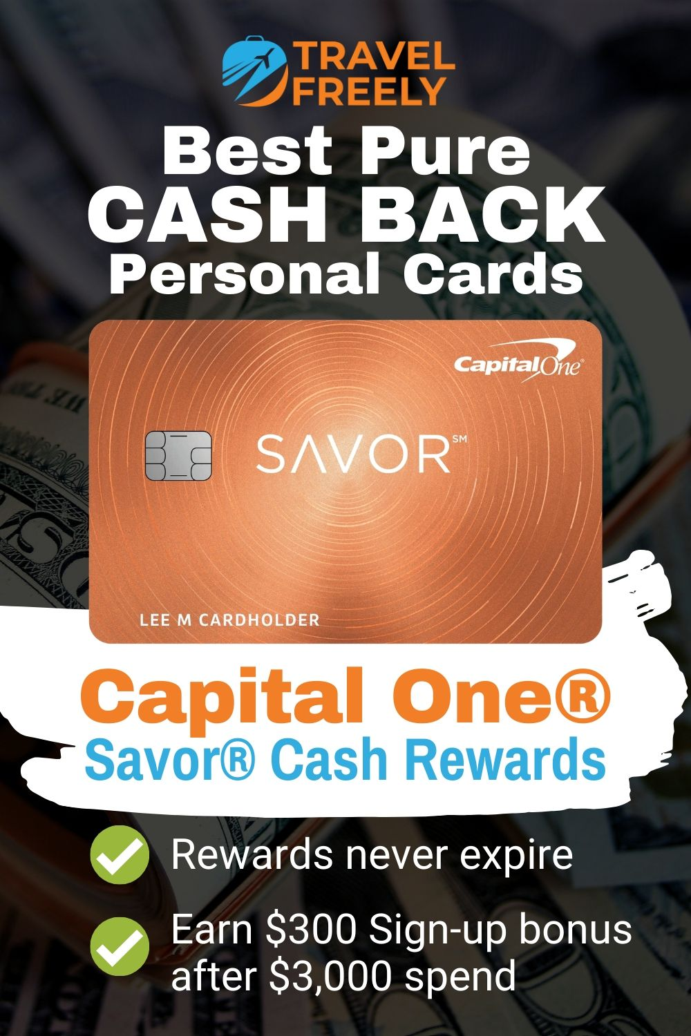 Best Pure Cash back Personal cards   Personal cards, Credit card, Credit card offers