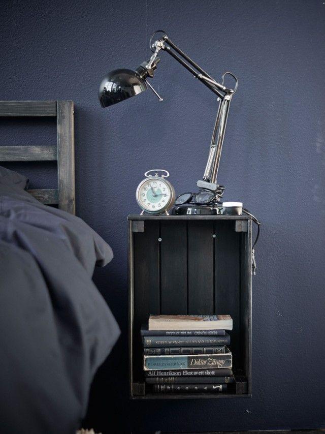 ikea hacking les caisses en bois knagglig papier peint. Black Bedroom Furniture Sets. Home Design Ideas