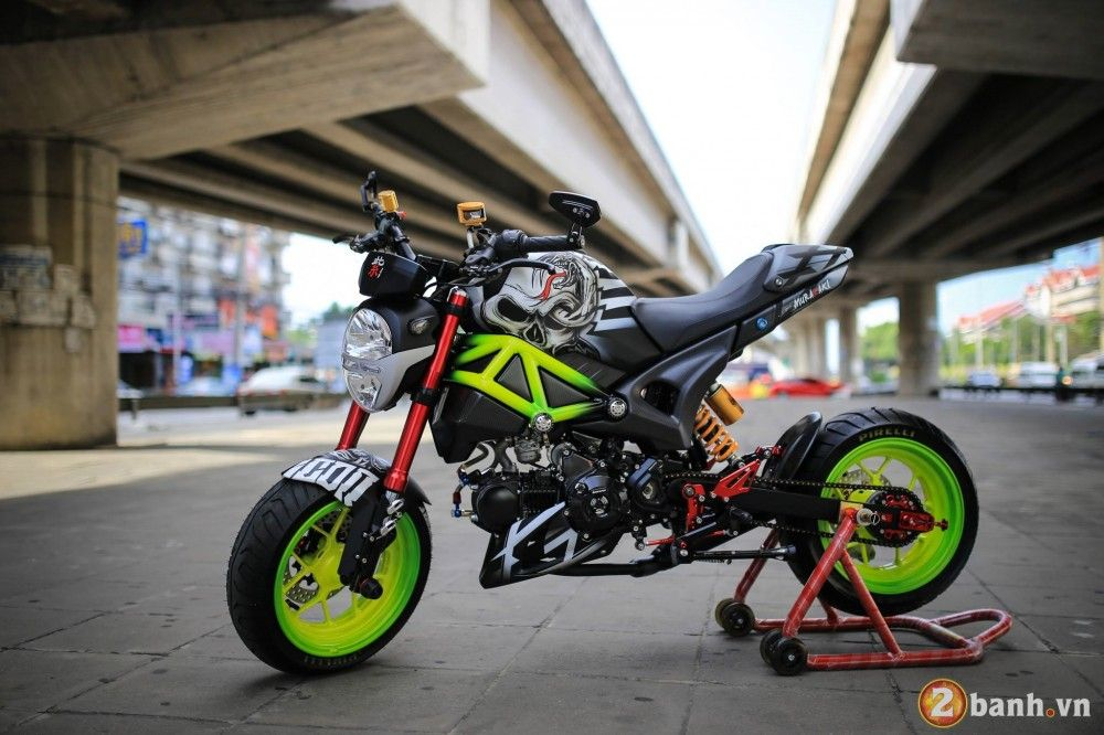 200 Custom Honda Grom Msx125 Pictures Photo Gallery Two