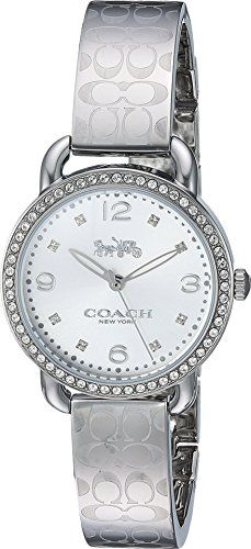 COACH Womens Delancey  14502765 Silver Watch -- Want additional info? Click on the image. Note: It's an affiliate link to Amazon