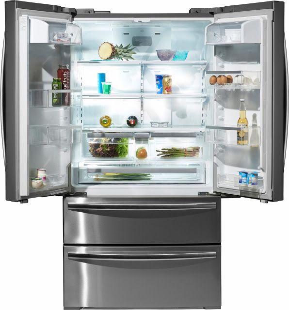 Ich und mein Kühlschrank | Landhaus Küchen: hell frisch und ...