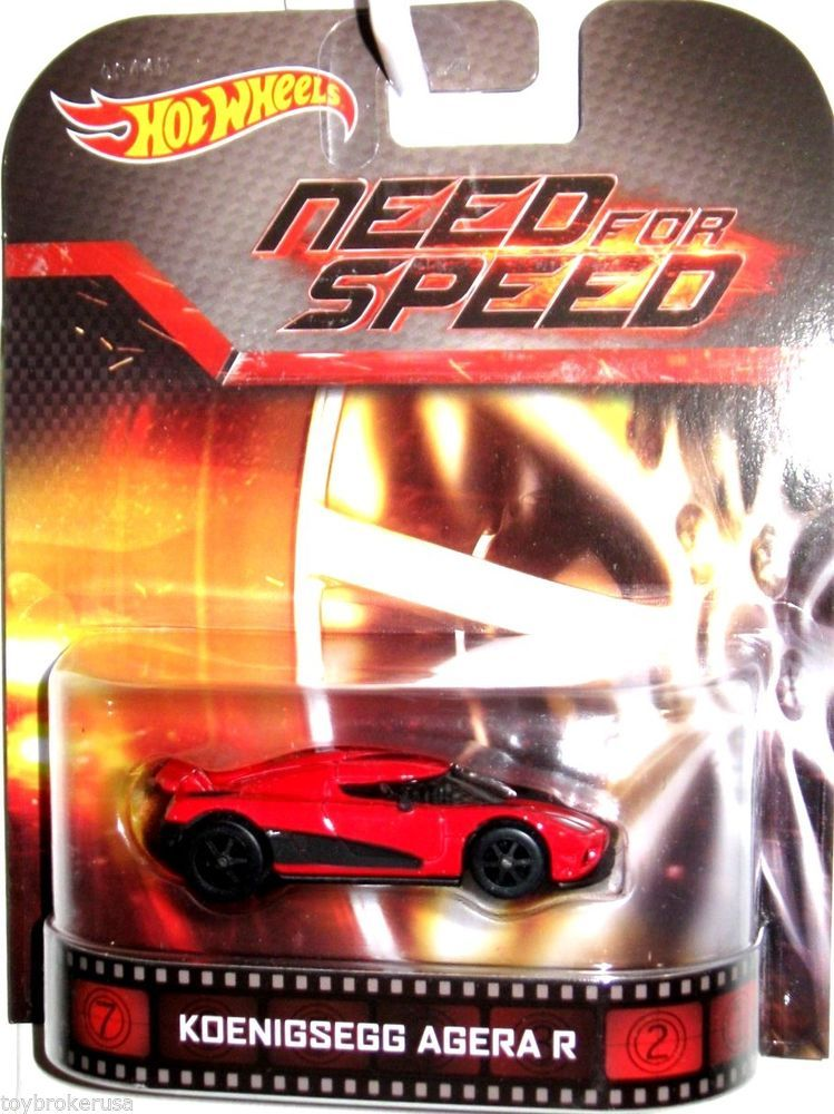 Koenigsegg Agera R NEED FOR SPEED Hot Wheels 2014 ...