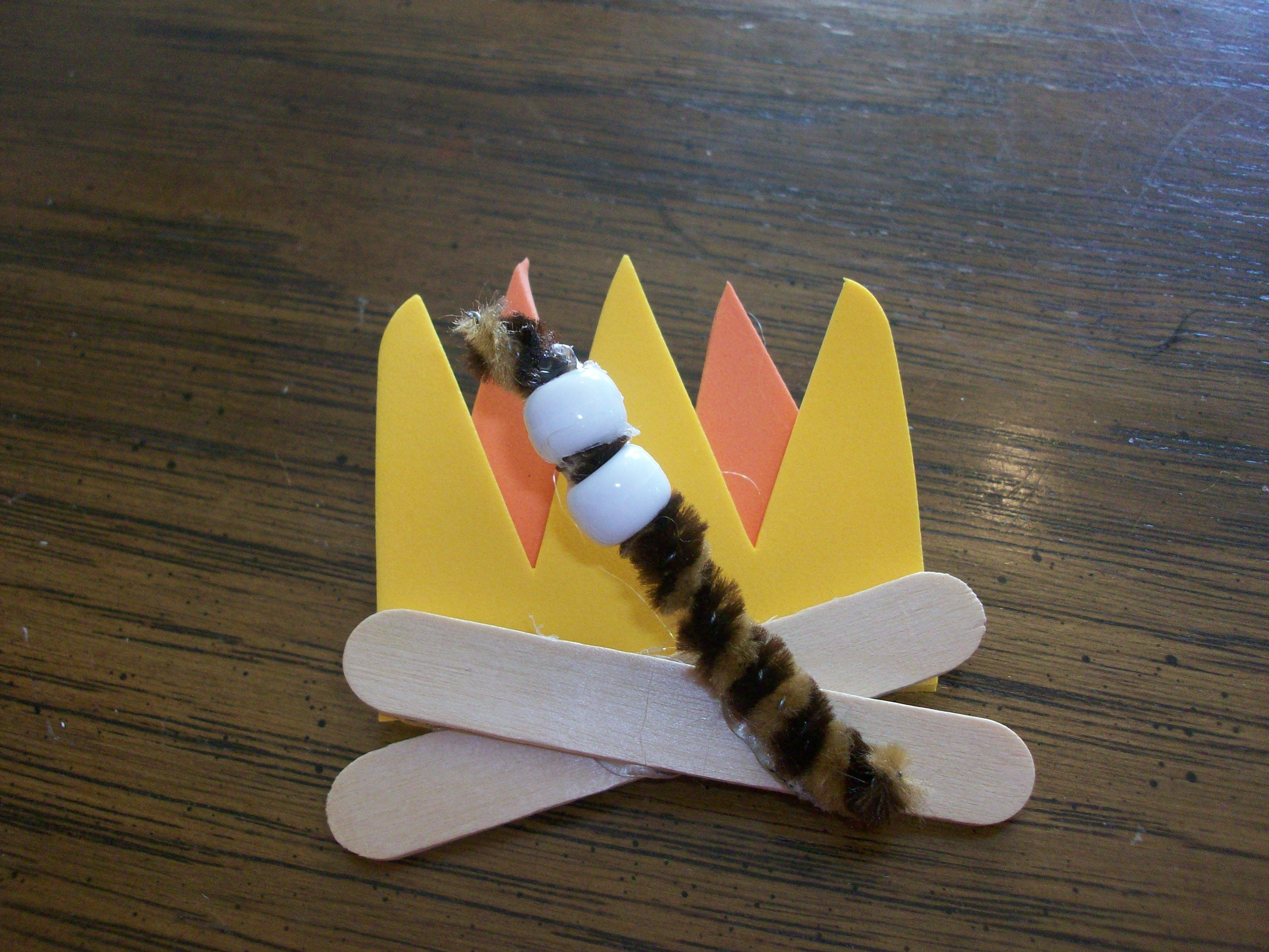 Campfire Crafts For Kids