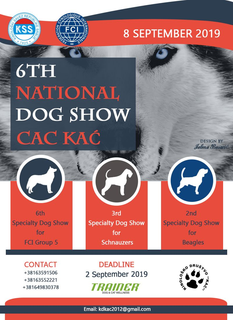 6th National Dog Show CAC KAĆ & 3x Specialty Dog Shows-8
