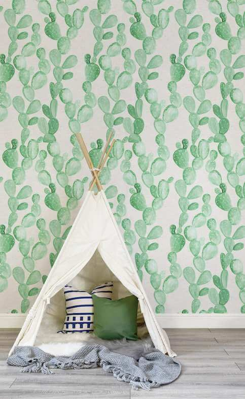 Cactus Themed Room For Kids Room Themes Kids Interior Room Cactus Bedroom