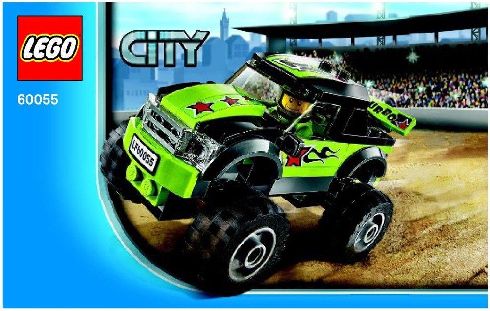 City Monster Truck Lego 60055 Lego City Monster Trucks Lego
