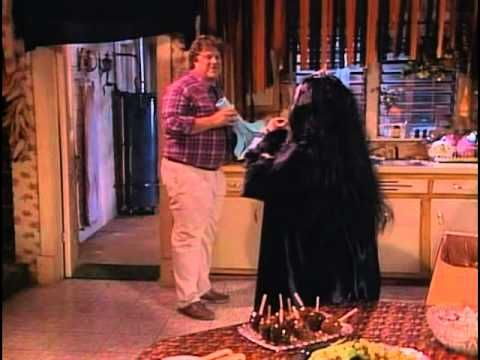 roseanne and home improvement always did the best halloween shows now the torch h trick or. Black Bedroom Furniture Sets. Home Design Ideas
