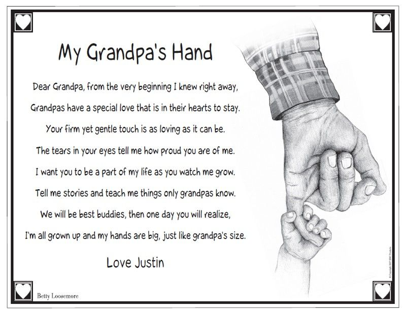 Prayer for a grandfather who passed away