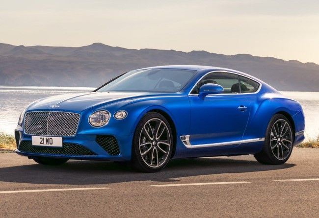 The 2018 Bentley Continental Gt Coupe Based On The 2015 Bentley Exp