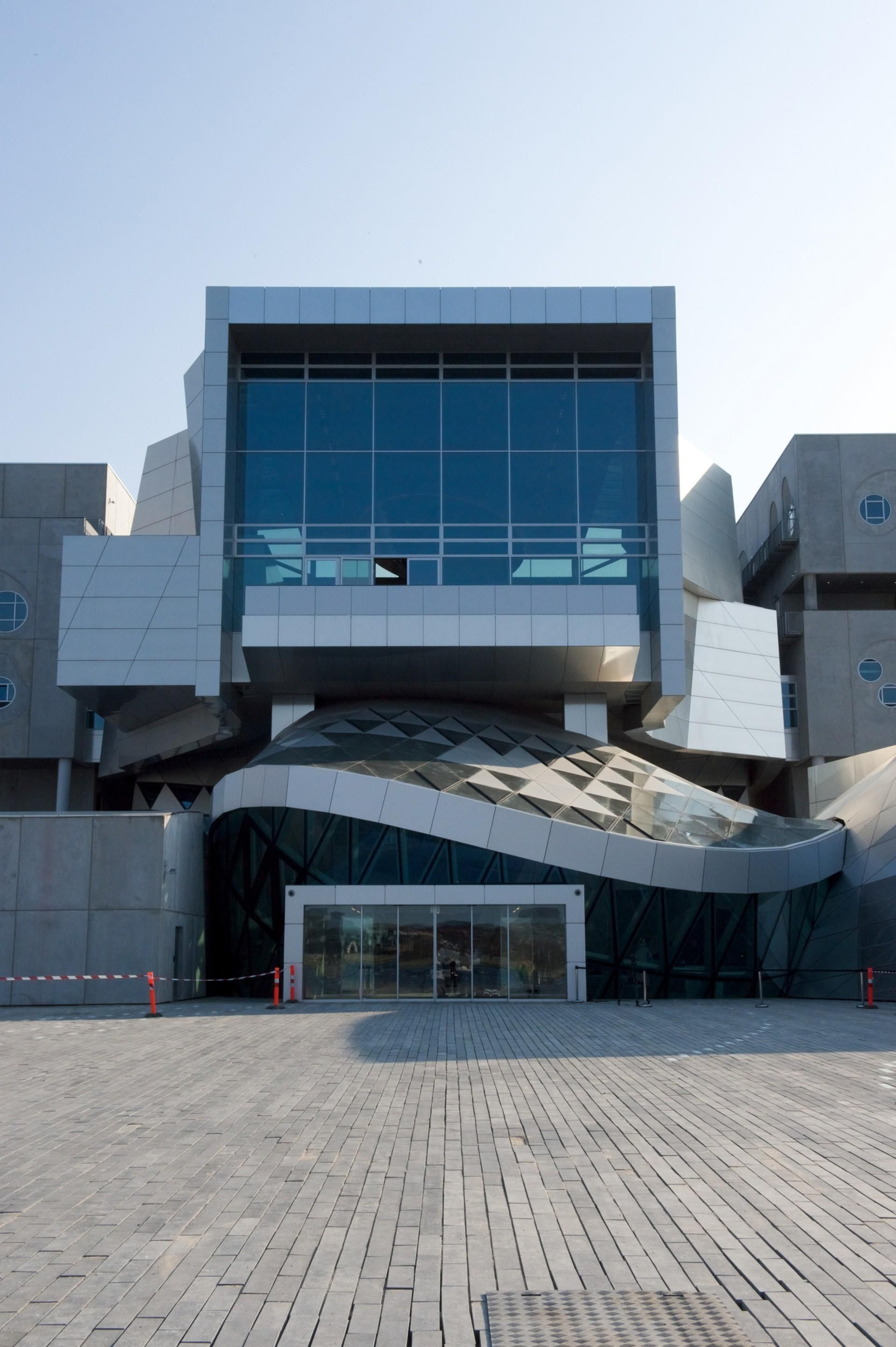 The House of Music in Aalborg Denmark was designed by the