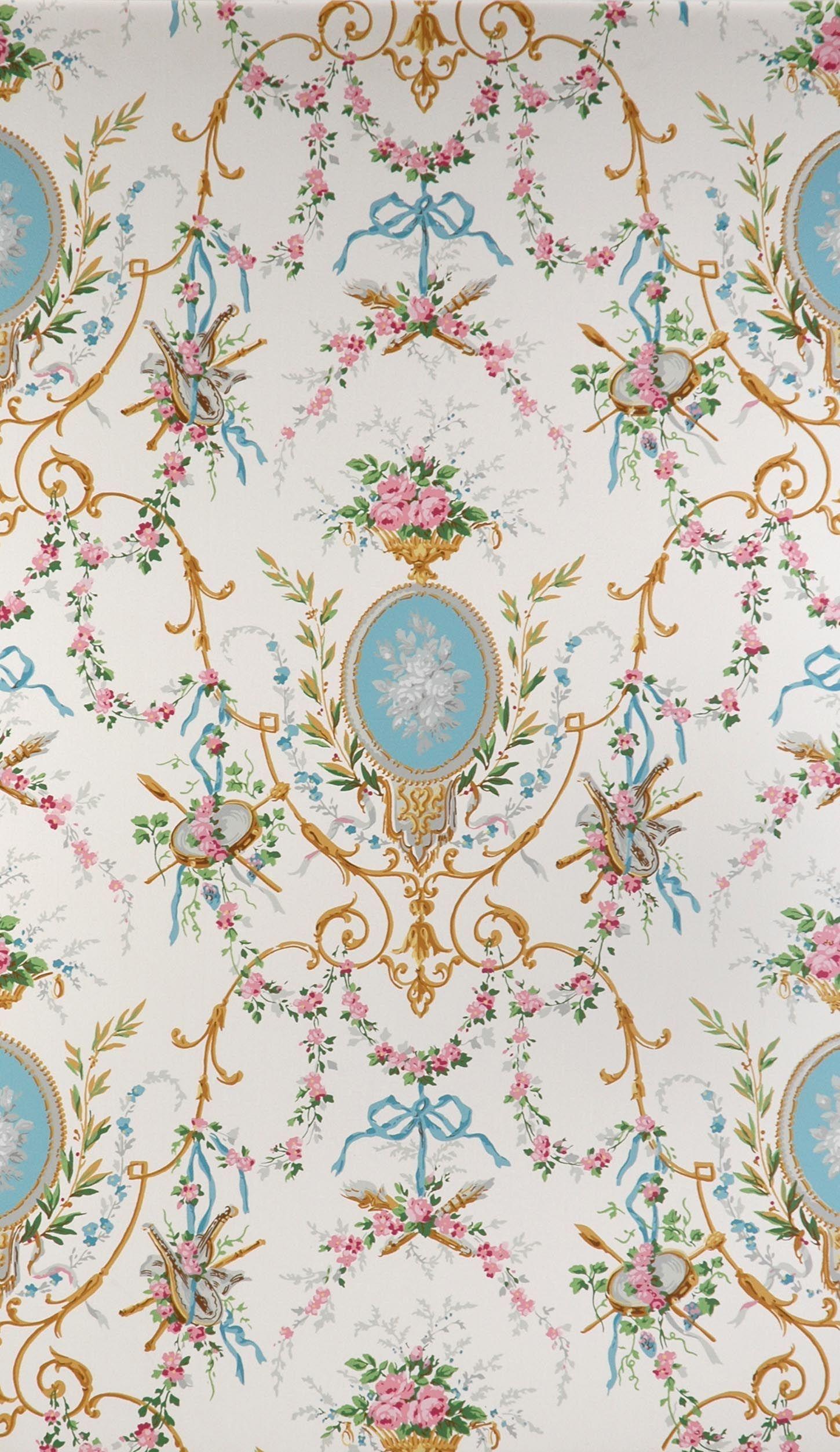 tapeten historische tapeten hembus gmbh ca 1800 stoffe tapeten bord ren teppiche. Black Bedroom Furniture Sets. Home Design Ideas