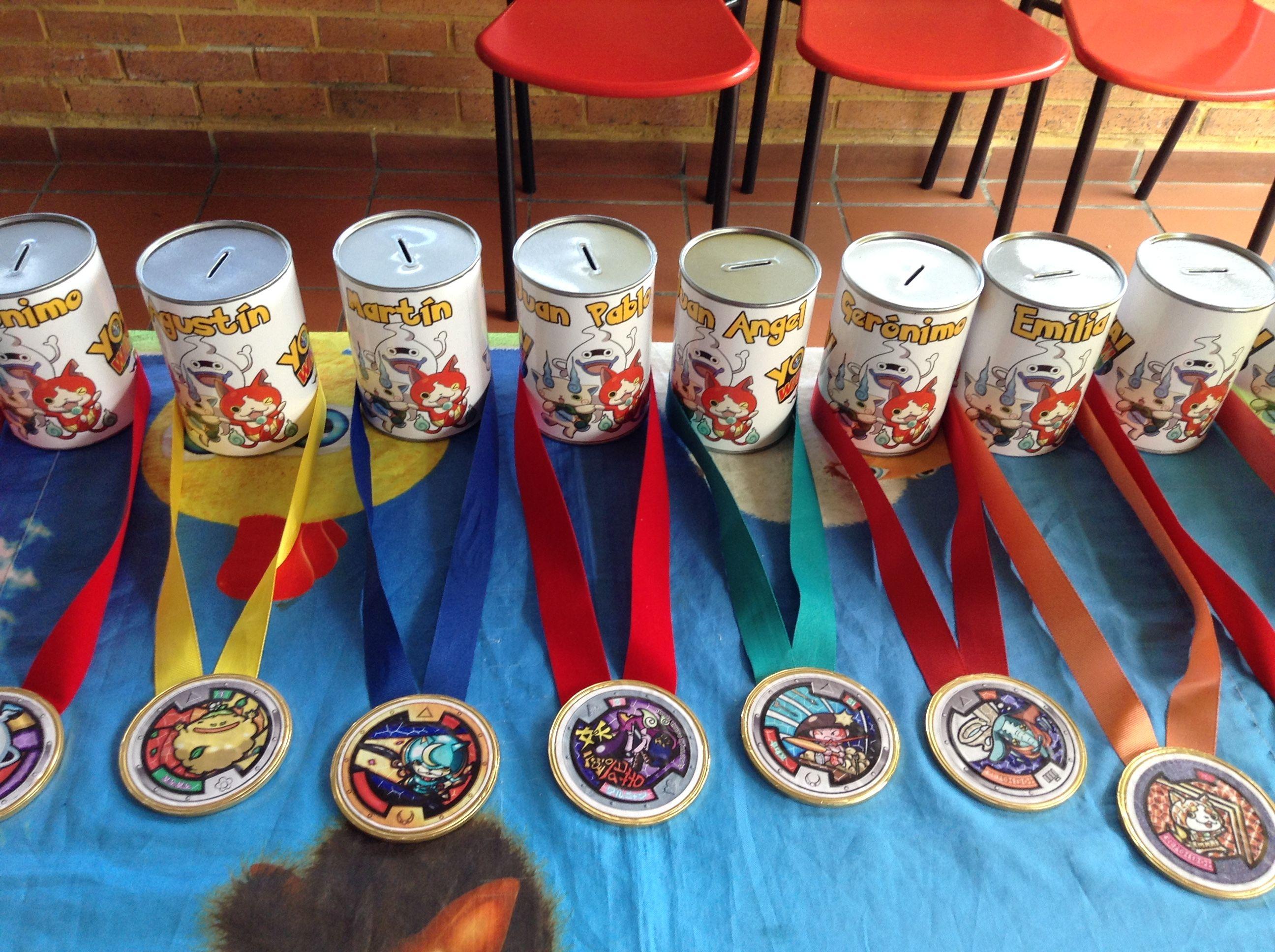 alcancas y medallas de chocolate divino para de fiestas infantiles