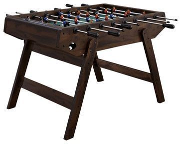 Home Styles Deluxe Foosball Game Table in Antique Mahogany - Transitional - Game Tables - Cymax ...