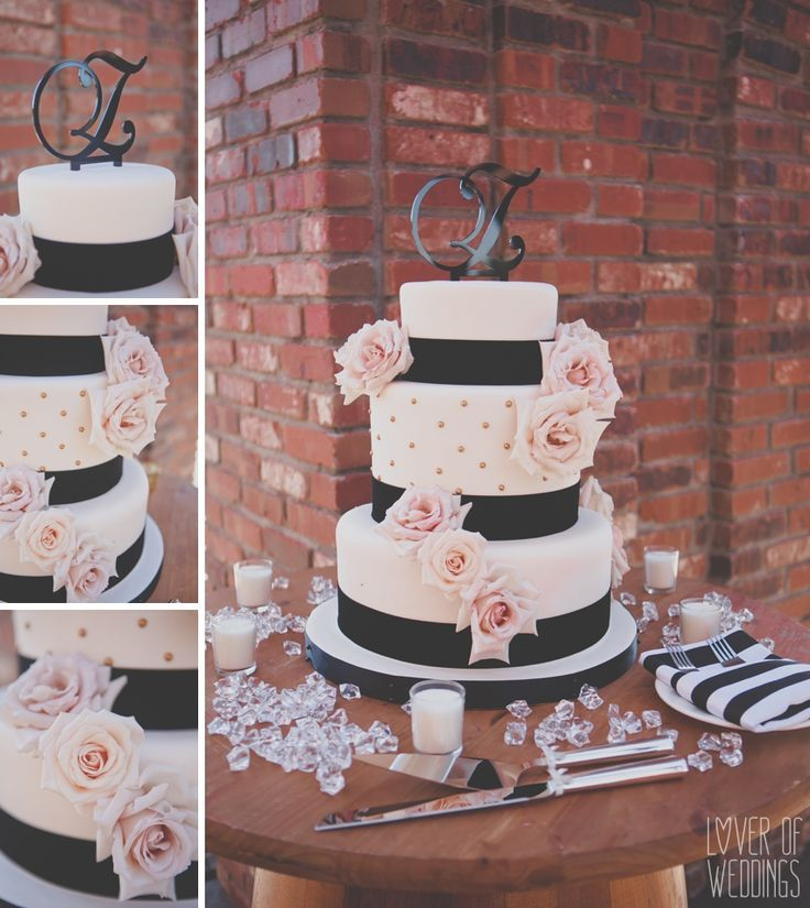 Weddings In Blush And Black