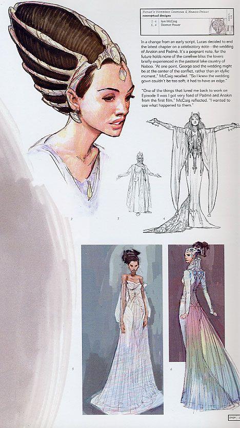 Wedding Dress Concept Art