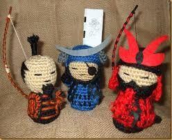 Image result for samurai amigurumi