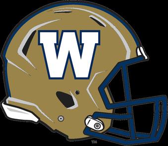 Winnipeg Blue Bombers Winnipeg Blue Bombers Blue Bombers Football Helmets