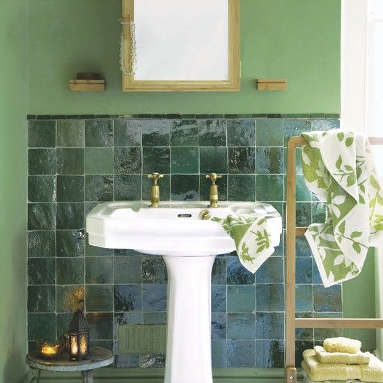 How To Decorate With Green The Most Peaceful Of Colours Pinterest