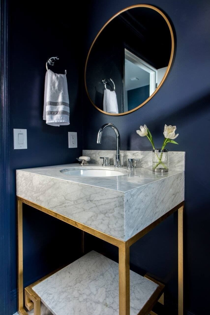 Pin by lucero on baño pinterest powder room vanities and room