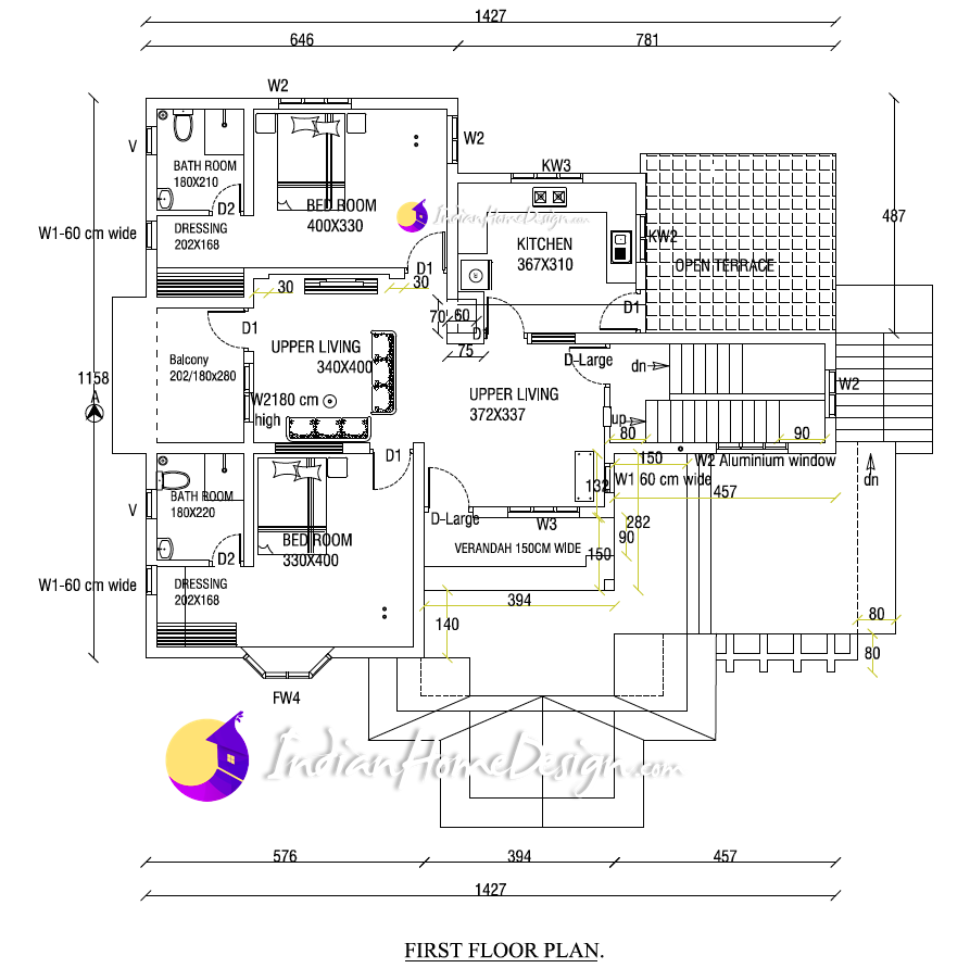 Free indian home plans kerala house design low cost with photos this